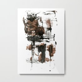 rough hands Metal Print