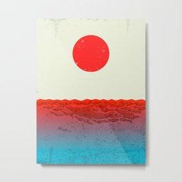 Fukushima Metal Print