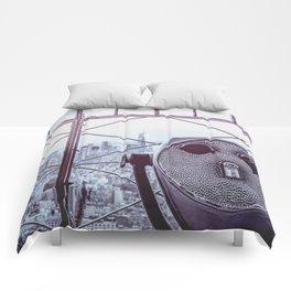 Perfect New York Night - City Life Comforters