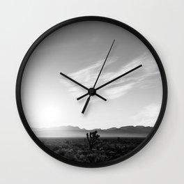 Nevada Desert Sunrise IV Wall Clock