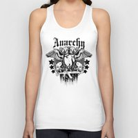 anarchy Tank Tops featuring Anarchy by Tshirt-Factory