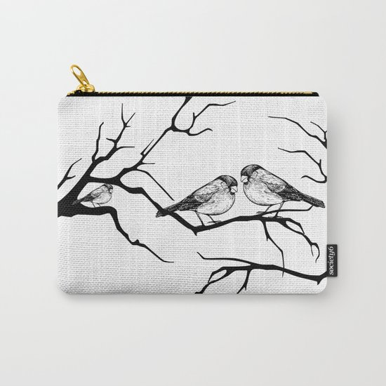 Family birds Carry-All Pouch