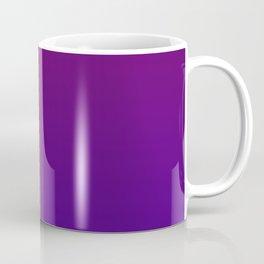 Deep Gradient Mi-Parti (Half And Half) Design! (Dark Red, Orange, Pink, and Purple) Coffee Mug