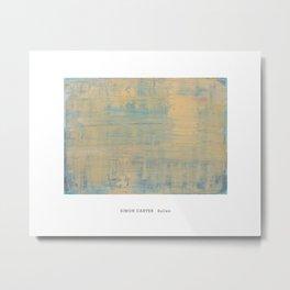 Simon Carter Painting Sullen Metal Print