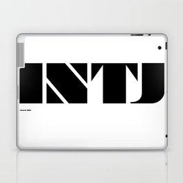 Type Type for INTJ Laptop & iPad Skin