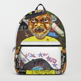 Uncle Freeloaders Life Story Remixed Backpack