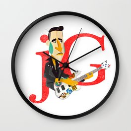 Jorge González Wall Clock