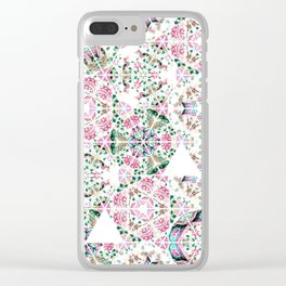 Nyonya Facets Clear iPhone Case