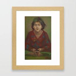 Prayer. Framed Art Print