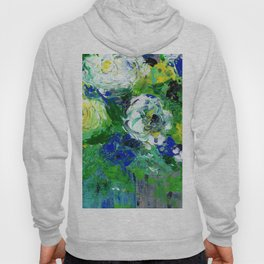 Abstract Floral - Botanical Hoody