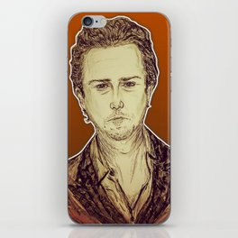 (Top/UnderDog - Edward Norton) - yks by ofs珊 iPhone Skin