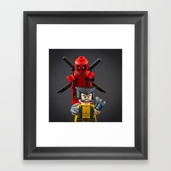 Deadpool's Revenge Framed Art Print
