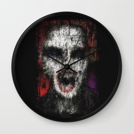 The Guardian at The Tree of Flesh and Bone Wall Clock