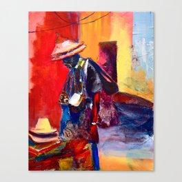 Hats for sale Canvas Print