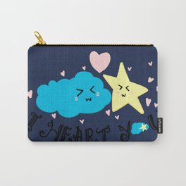 Cloudy Love Carry-All Pouch