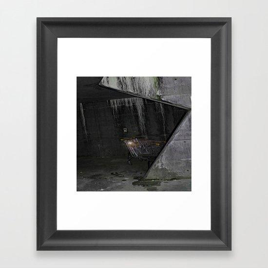 Trolly Framed Art Print