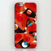 70s iPhone & iPod Skins featuring orange 70s by Matthias Hennig