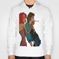 cigarette Hoodies featuring cigarette by Samantha Sager