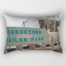 Georgetown Trailer Park Rectangular Pillow