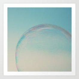 bubble 1 ... Art Print