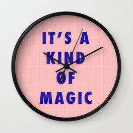 A Kind Of Magic Wall Clock