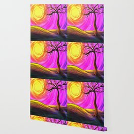Sunny Tree Wallpaper
