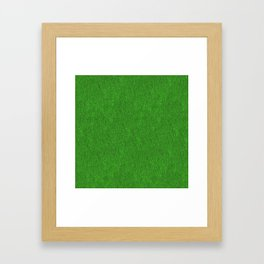 Green Glimmer Framed Art Print