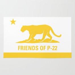 P-22 Yellow Rug