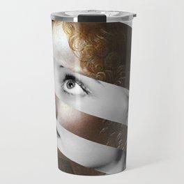 Leonardo Da Vinci's Angel & Bette Davis Travel Mug