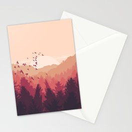 Autumn Colors Stationery Cards