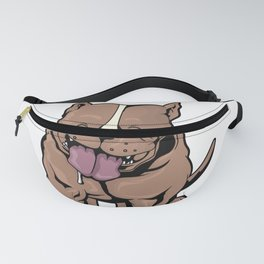 I Do What I Want Funny Pitbull Terrier Trainer Fanny Pack