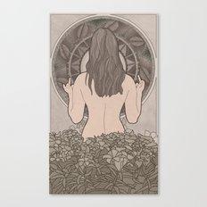 Nouveau Back Canvas Print