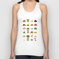 talking heads Tank Tops featuring Heads by Mr Onion