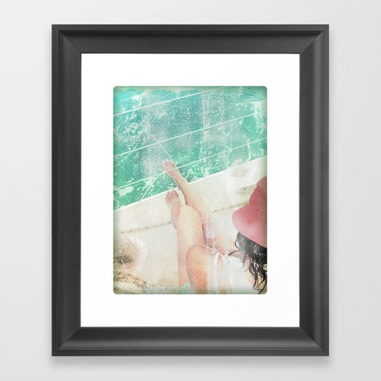 peace and tranquility Framed Art Print