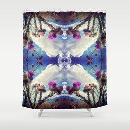 Desert Thistle II Shower Curtain