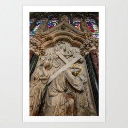 Cross of Calvary Art Print