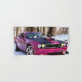 Fuchsia Panther Pink Limited Edition Hurst Challenger RT Hand & Bath Towel