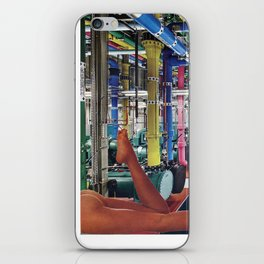 Killer Pipes  - Vintage collage iPhone Skin