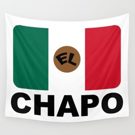 El Chapo Mexican flag Wall Tapestry