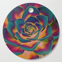 """""""Exotic Succulent Pop Art"""" Cutting Board"""