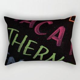 Highlight Typography 2 Rectangular Pillow