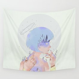 REI AYANAMI 00 Wall Tapestry