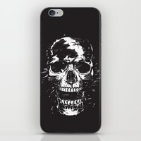 scream iPhone & iPod Skins featuring Scream by Balazs Solti