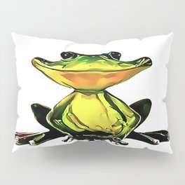Jon Jade - The Cambodian Tree Frog Pillow Sham