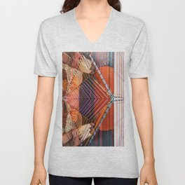 Pennies in the well Unisex V-Neck