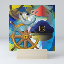Nautical Design Mini Art Print