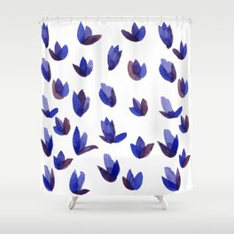 Read My Tulips Shower Curtain