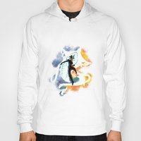 the legend of korra Hoodies featuring THE LEGEND OF KORRA by Beka