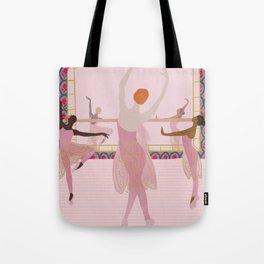 Ballerinas in the Studio Tote Bag