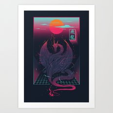 Fei Long Art Print